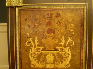 Detalle de parte del mobiliario.
